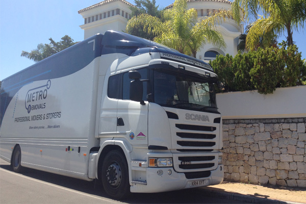 Overseas removals by Metro Removals