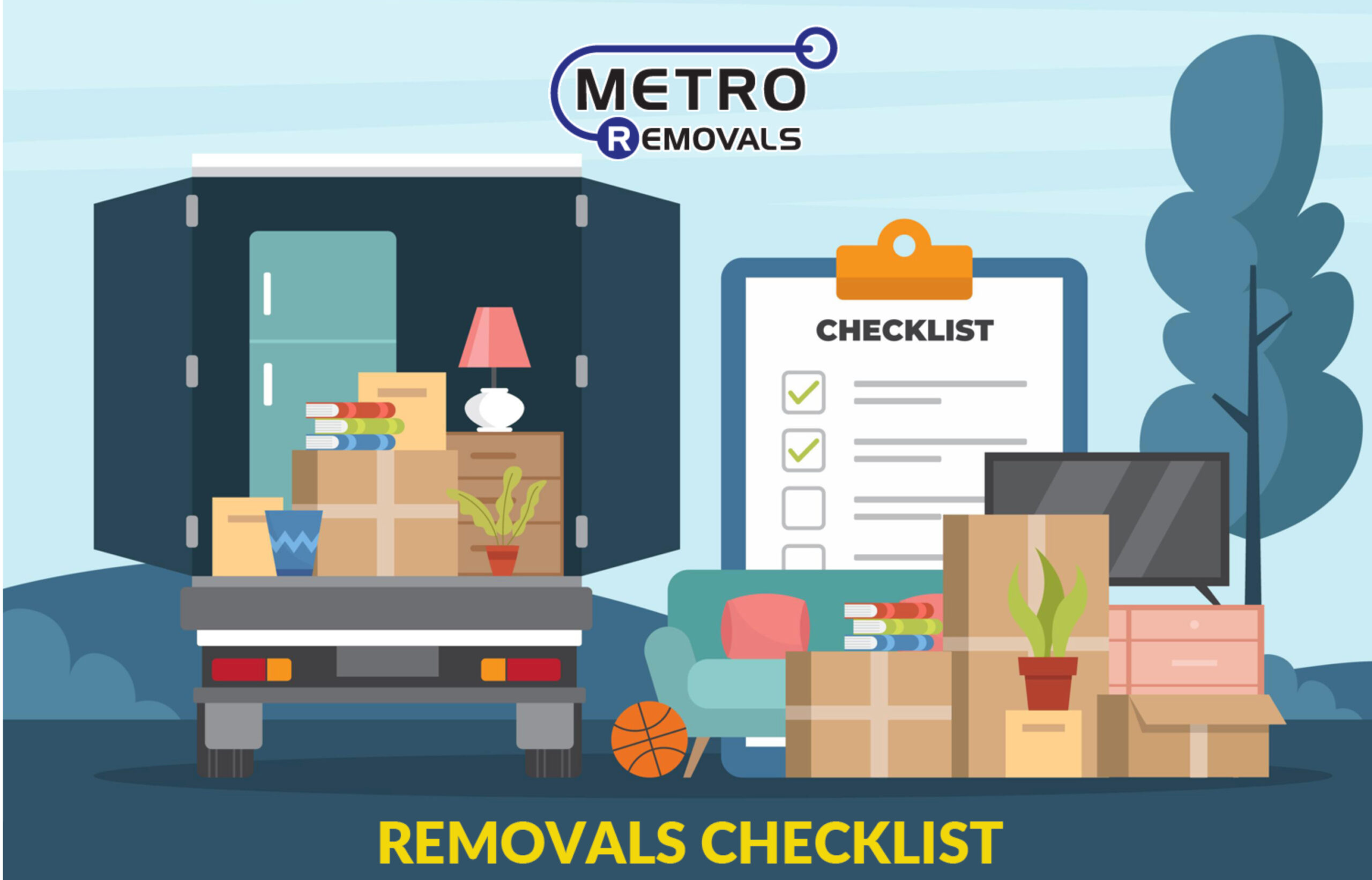 A moving house checklist [Infographic]